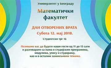 """<a href=""""http://www.matf.bg.ac.rs/vesti/2515/dan-otvorenih-vrata-na-matematickom-fakultetu-12052018/"""">Dan otvorenih vrata</a>"""